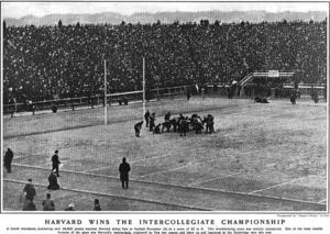1901 college football season - Image: 1901Harvardintercoll egiate