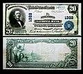 1902 - Twenty Dollar Bill - Allentown National Bank - Allentown PA.jpg