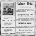 1903 Palace Hotel (Heppner, OR) Advertisement.png