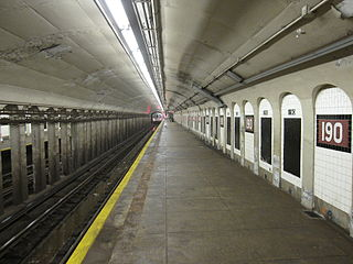 190th Street IND Eighth Avenue 2.JPG