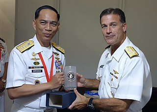 Robert Empedrad Filipino government official and former Navy admiral