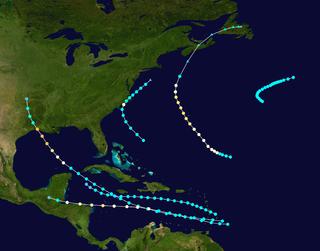 1918 Atlantic hurricane season hurricane season in the Atlantic Ocean