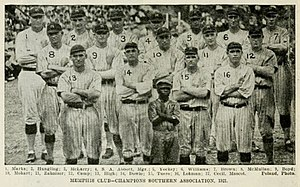 Memphis Chicks - The 1921 Southern Association Champion Memphis Chicks