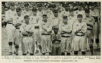 Memphis Chicks - The 1921 Southern Association Champion Memphis Chicks