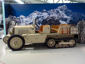 79738becc9 Citroën P17 half-track truck of the early 1930s