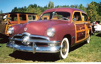 Ford Country Squire - 1950 Ford Country Squire
