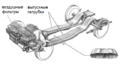 1963 Chrysler turbine car exhaust system ru.png