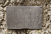 1974 Italicus Express bombing - Memorial 03.jpg