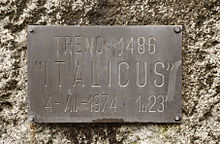 1974 Italicus Express bombing - Memorial 03.jpg