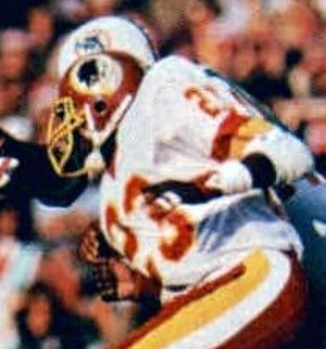 Tony Peters - Peters playing for the Redskins in Super Bowl XVII