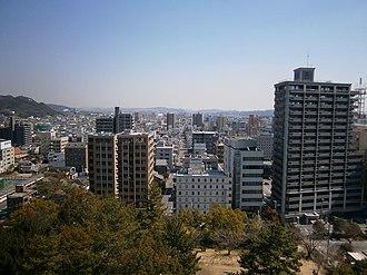 Chūgoku region - Image: 1 Chome 8 Marunouchi, Fukuyama shi, Hiroshima ken 720 0061, Japan panoramio (2)