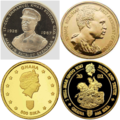 1 oz Gold Sika (1 Troy Ounce Gold Sika) Gold Coins.png