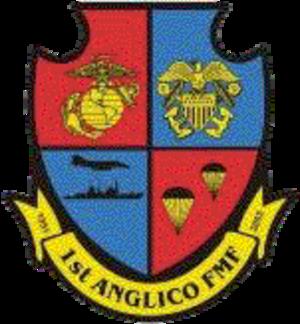 Air Naval Gunfire Liaison Company - Image: 1anglicologo