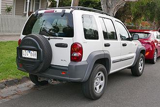 Jeep Liberty (KJ) - Jeep Cherokee Sport wagon (Australia)