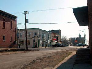 Earlville, Illinois - Earlville in 2003