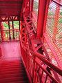 20040504 4 May 2004 Tokyo Tower stairs 2 Shibakouen Tokyo Japan.jpg