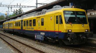 SBB-CFF-FFS RBDe 560 - Train des Vignes at Vevey