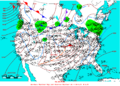 2006-01-08 Surface Weather Map NOAA.png