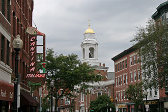 Hanover Street (Boston) - Hanover Street, Boston, 2009