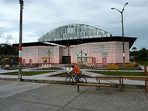 Indiana, Peru - Arena in Indiana.
