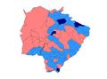 2010 Brazilian presidential election results - Mato Grosso do Sul.PNG