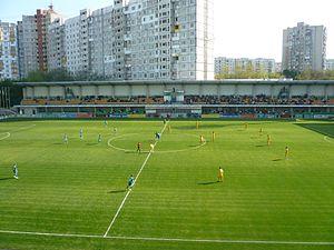 Zimbru Stadium - Image: 2010 Zimbru Dacia