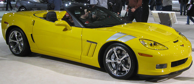 Chevrolet Corvette Grand Sport Convertible (C6)