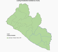2011 Liberian 2st round election map.png