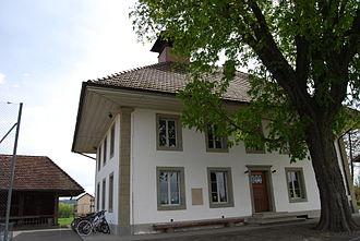 Kriechenwil - Kriechenwil schoolhouse, built 1839