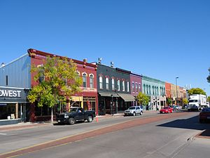 Water Street Historic District (Eau Claire, Wisconsin) - Image: 2012 09 27 Water Street Historic District