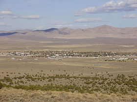 2012-10-20 View of Wells in Nevada from Angel Lake Road (Nevada State Route 231).jpg