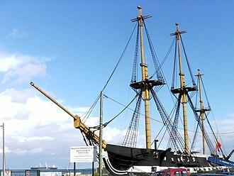 Dom Fernando II e Glória - The frigate following reconstruction