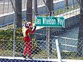2012 Honda Grand Prix of St. Petersburg Helio Castroneves Dan Wheldon 4.JPG