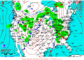 2013-01-11 Surface Weather Map NOAA.png