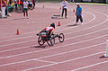 2013 IPC Athletics World Championships - 26072013 - Catherine Debrunner of Switzerland during the Women's 400M - T53 second semifinal 13.jpg