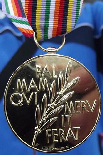 2013 World Single Distance Speed Skating Championships - Image: 2013 WSDC Sochi Gold medal