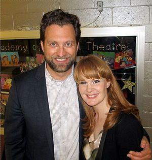 Kate Baldwin - Graham Rowat and Kate Baldwin visit Northwood High School, Silver Spring, Maryland, USA, as featured guests of ArtSpeak, 2014-04-30.