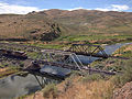 2014-06-21 15 47 00 Train about to cross a railway bridge over the Humboldt River in Palisade, Nevada.JPG