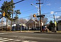 2014-12-30 14 48 03 Traffic light at the intersection of Lawrence Road (U.S. Route 206) and Eggerts Crossing Road in Lawrence, New Jersey.JPG