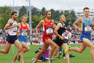 Will Leer American middle-distance runner