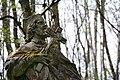 2015-04-16 GuentherZ (54) Mannersdorf Leithagebirge Wueste Statue Johannes Nepomuk alt.jpg