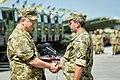 2015-08-22. Чугуев. Встреча Порошенко с военными 3.jpg