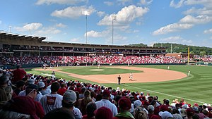 2015 NCAA Division I Baseball Tournament - Action from Game 3 of Fayetteville Super Regional