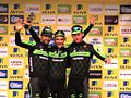 2015 Tour of Britain - winning team Cannondale Garmin.JPG