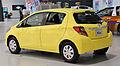 2015 Toyota Vitz F rear.jpg