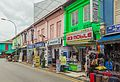 2016 Singapur, Little India, Ulica Dunlop, Domy-sklepy (03).jpg