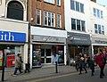 2016 Woolwich, Powis Street shops 06.jpg