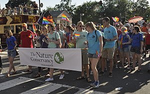 The Nature Conservancy - The Nature Conservancy at 2017 Capital Pride.
