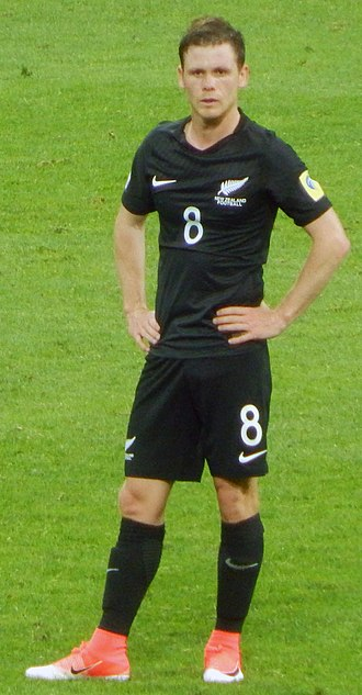 Michael McGlinchey - McGlinchey with New Zealand in 2017