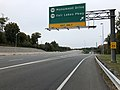 2018-10-26 13 41 00 View south along Virginia State Route 286 (Fairfax County Parkway) at the exit for Virginia State Route 7969 (Monument Drive) and Virginia State Route 7700 (Fair Lakes Parkway) in Greenbriar, Fairfax County, Virginia.jpg